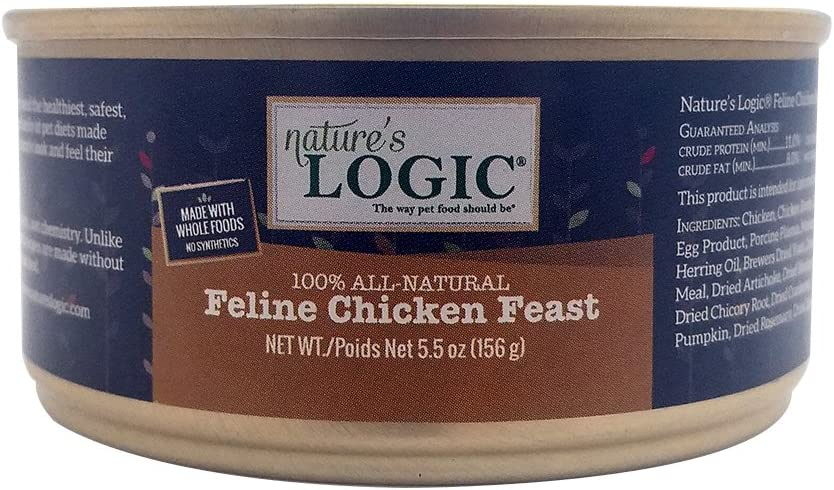 Nature's Logic Canned Food - Chicken - 12 x 5.5 oz
