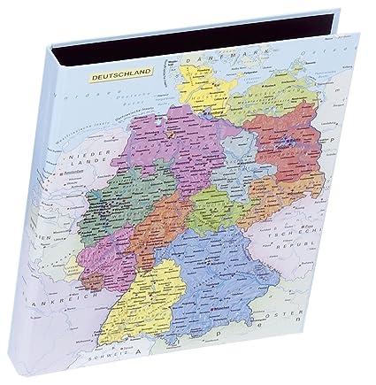 Pagna Ringbuch Motiv Deutschlandkarte Din A4 Amazon Es