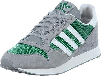 Adidas ZX 500 OG W Zapatillas Sneakers Cuero Gamuza Gris Verde para Mujer: Amazon.es: Deportes y aire libre