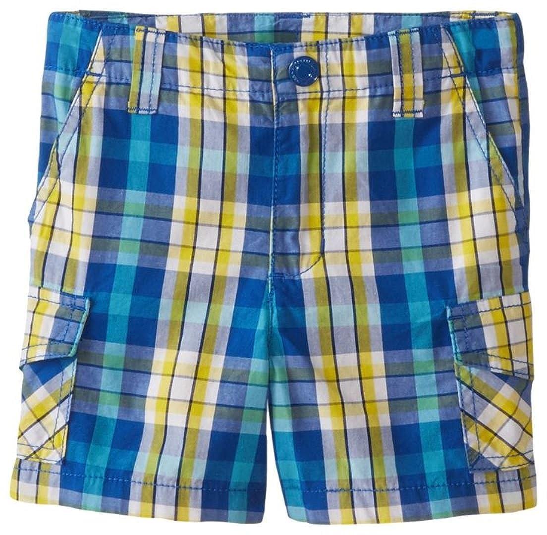 Kitestrings Big Boys Cotton Plaid Shorts