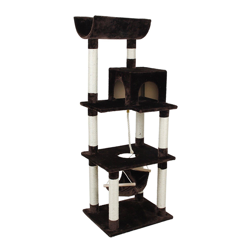 Cat Craft 4303801 Cat Condo Tower Playset, 63 Inch