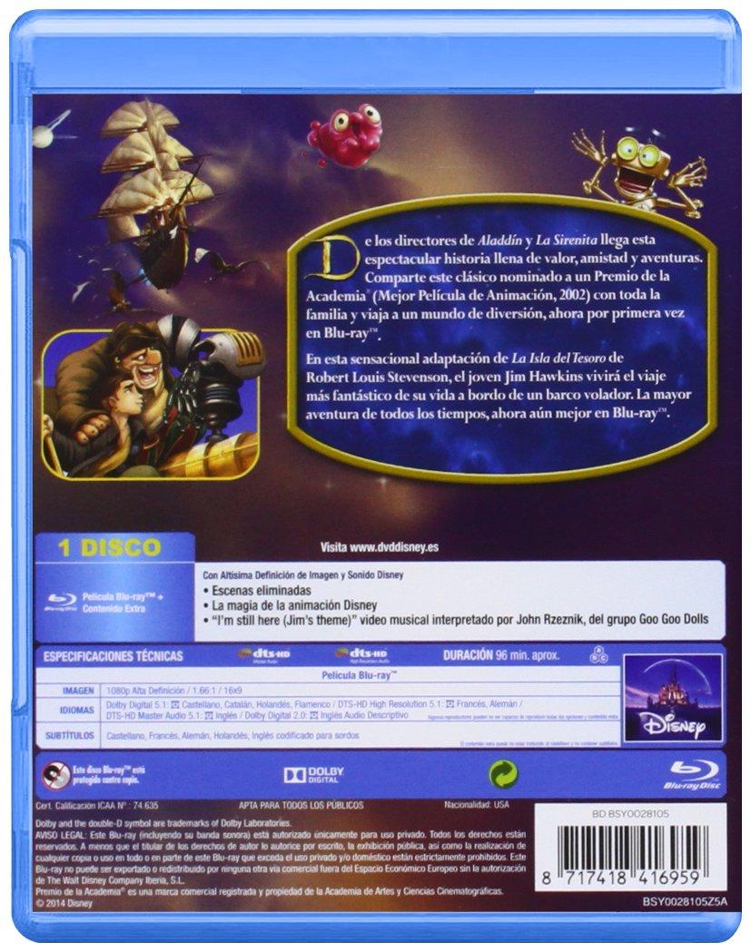 El Planeta Del Tesoro [Blu-ray]: Amazon.es: Ron Clements ...