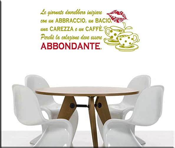 Emejing wall stickers cucina ideas for Carrelage kitch