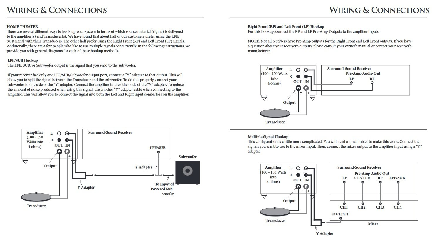 Clark Synthesis Tst239 Silver Tactile Transducer Bass Whole Home Audio Wiring Diagrams Shaker Theater