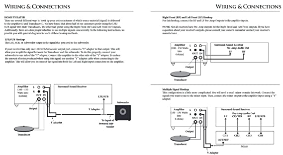 Amazoncom Clark Synthesis TST Silver Tactile Transducer Bass - Aura bass shaker wiring diagram