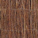 Windhager 06696 Brise Vue en Brande de Bruyère Marron 1,5 x 3 m