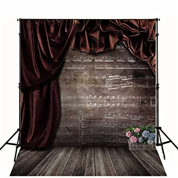 Rojo oscuro fondo de fotografía de cortina de telón de fondo ...