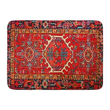 Amazoncom Coolest Secret Bath Mat Iran Persian Carpet Oriental