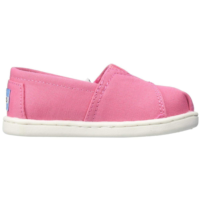 TOMS Girls' 10009918 Alpargata-K, Pink, 10 M US Toddler