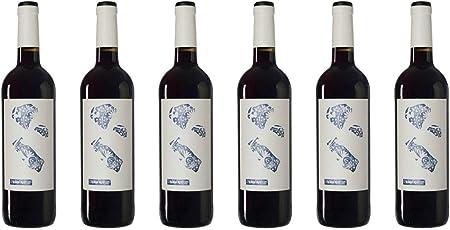 Altavins Viticultors | Vino Tinto Almodí Petit 2019 | D.O. Terra Alta |Pack de 6 botellas de 75cl.