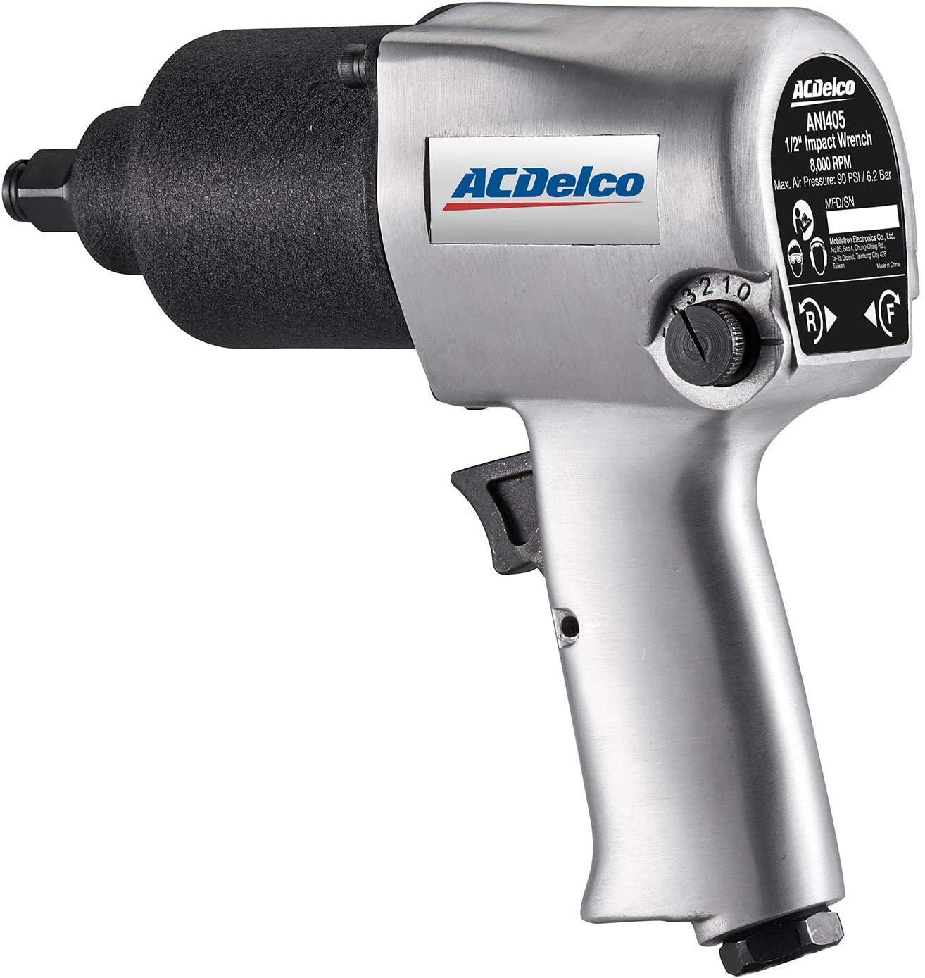 ACDelco ANI405 Heavy Duty Twin Hammer 1 2 Air Impact Wrench Pneumatic Tools