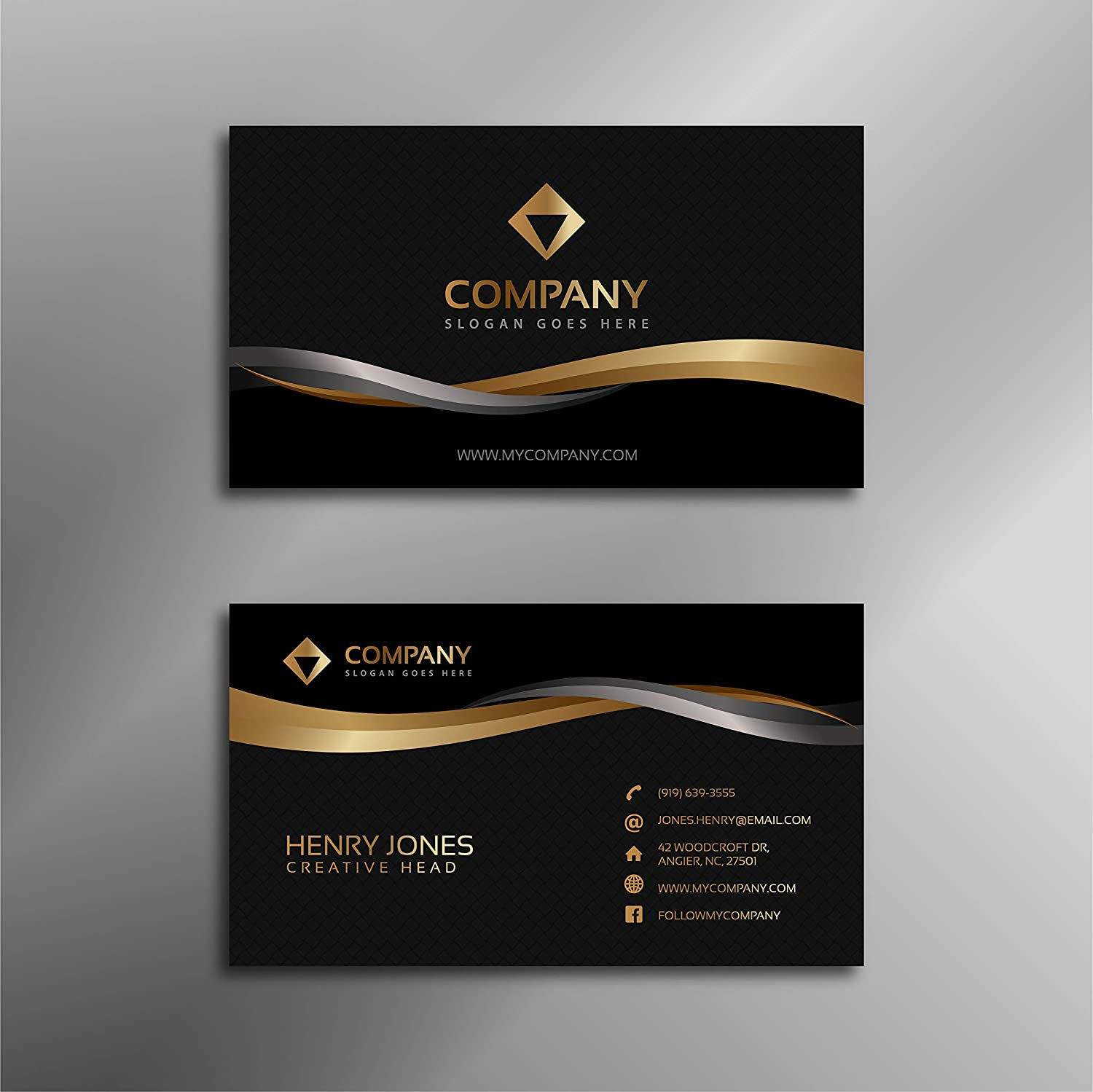 Rkgraphics Personalize Business Card For Jewellery Shop