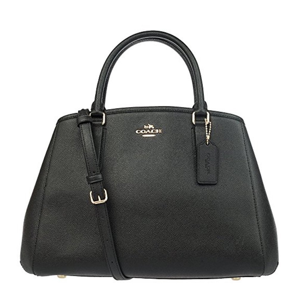 Coach Womens Shoulder Inclined Shoulder Handbag F57527 (Black IMBLK)