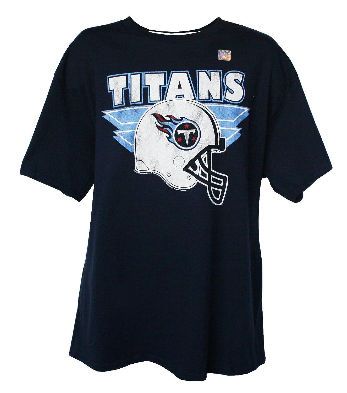 NFLメンズヘルメットロゴTシャツby g-iii , Tennessee Titans、ラージ   B00MCHJ0EG