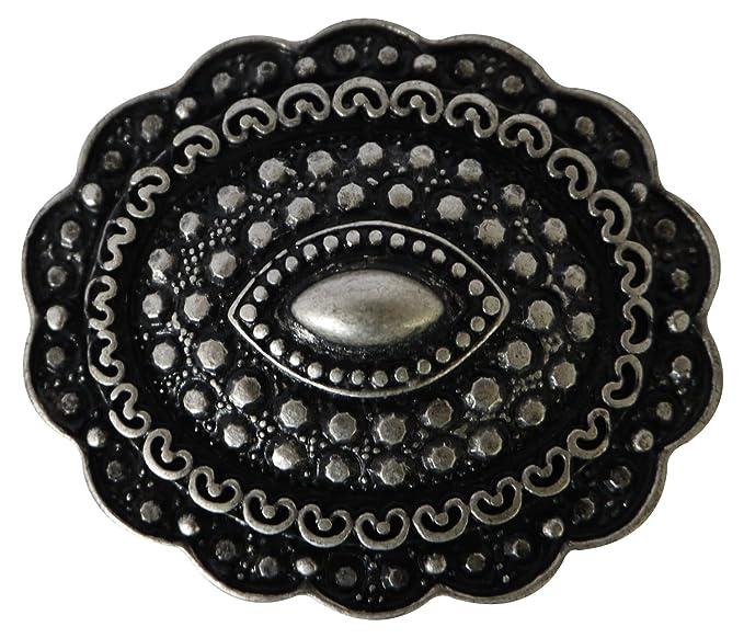 7ea73a75da7c Fronhofer Boucle de ceinture, boucle ovale pour les ceintures échangeables  de 3 cm, boucle