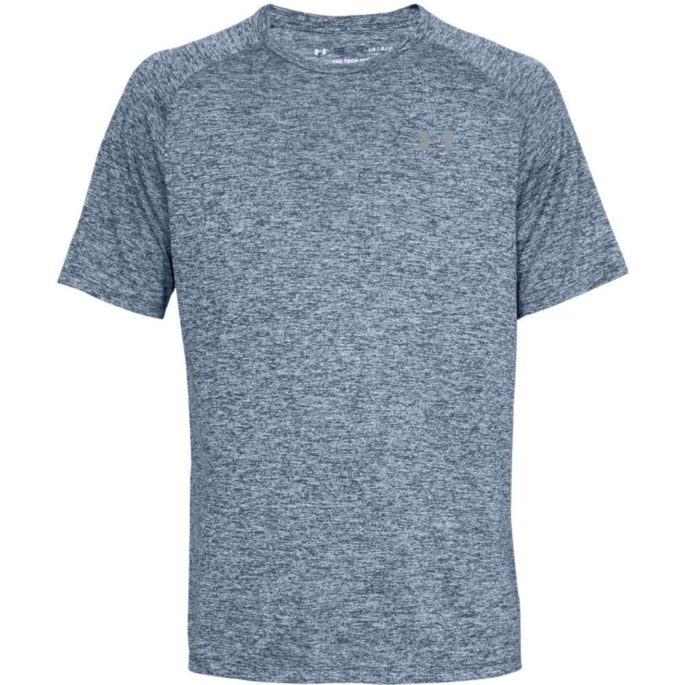 Under Armour Men's Tech 2.0 Short Sleeve T-Shirt, Academy (409)/Steel, 3X-Large by Under Armour (Image #6)
