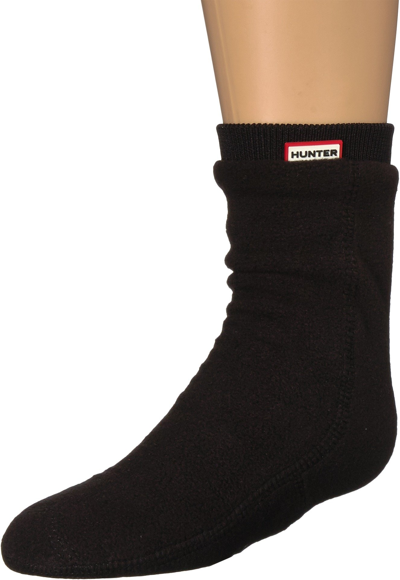 Hunter Kids Unisex Original Fitted Boot Socks (Toddler/Little Kid/Big Kid) Black Medium