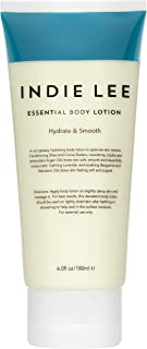 product image for Indie Lee Essential Body Lotion - Daily Moisturizing Body Butter with Organic Ingredients, Shea + Cocoa Butter - Hydrating Cream for Soft, Supple Complexion - For All Skin Types (6oz / 180ml)