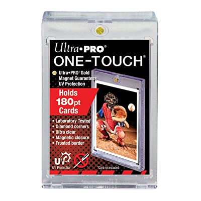 Ultra Pro 1X 180PT UV One Touch Magnetic Holder for Thick Cards or Jersey Card: Sports & Outdoors