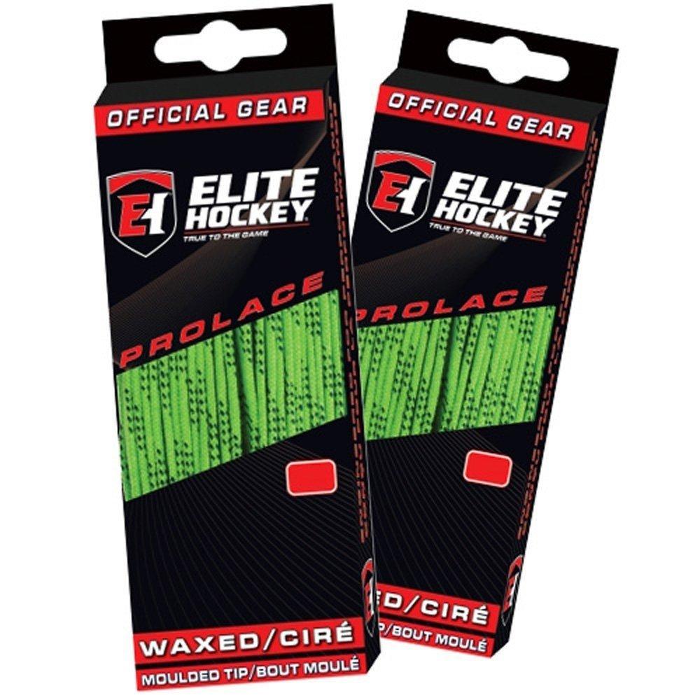 Set of 2 Pairs Elite Hockey Prolace Waxed Hockey Skate Laces