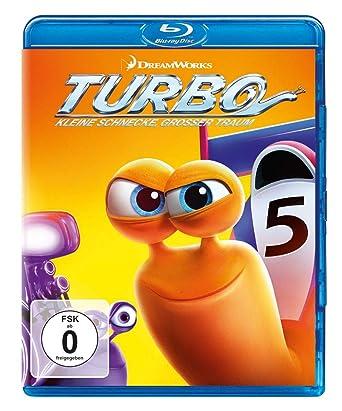 Turbo - Kleine Schnecke, großer Traum [Alemania] [Blu-ray]