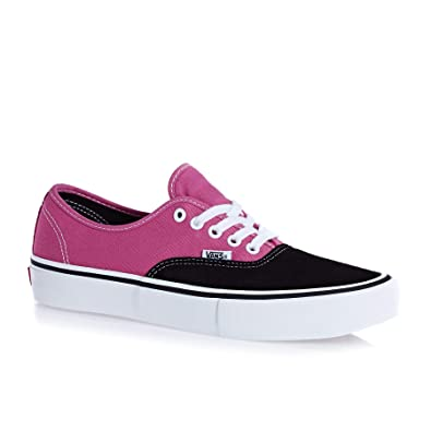 657d1496bd Image Unavailable. Image not available for. Color  Vans Authentic Pro US  Mens Size 13 Black Magenta Skateboarding Shoes