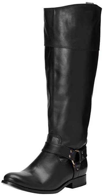 Amazon.com | FRYE Wo's Melissa Harness Inside-Zip Boot | Knee-High