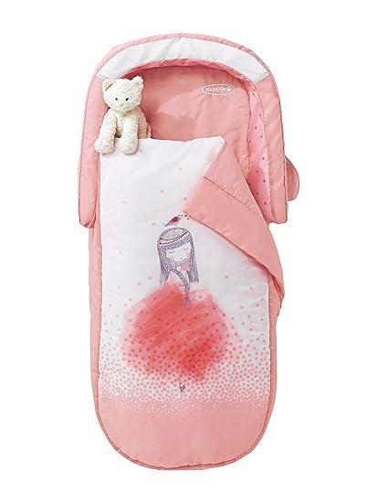 VERTBAUDET Saco de dormir todo en uno con colchón integrado y cabecero Princesa Rosa UNICA: Amazon.es: Hogar