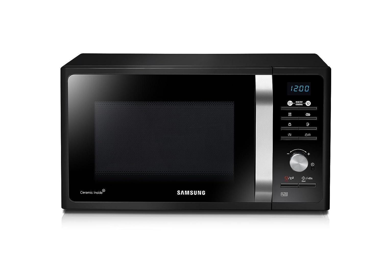 Samsung MG23F301TAK/CE - Forno a microonde, 23 litri, 1100 W, colore: nero Samsung-Electronics-Iberia-Sa Mg23F301Tak/Ec