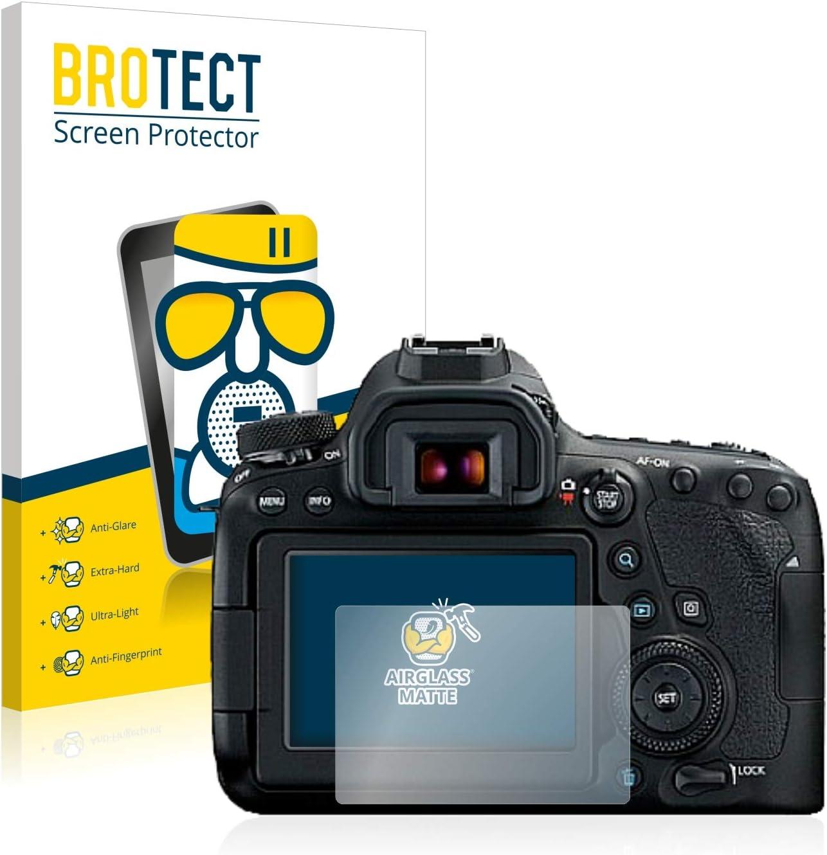 Mat Film Protecteur Vitre 9H brotect Anti-Reflet Protection Ecran Verre Compatible avec Canon EOS 6D Mark II