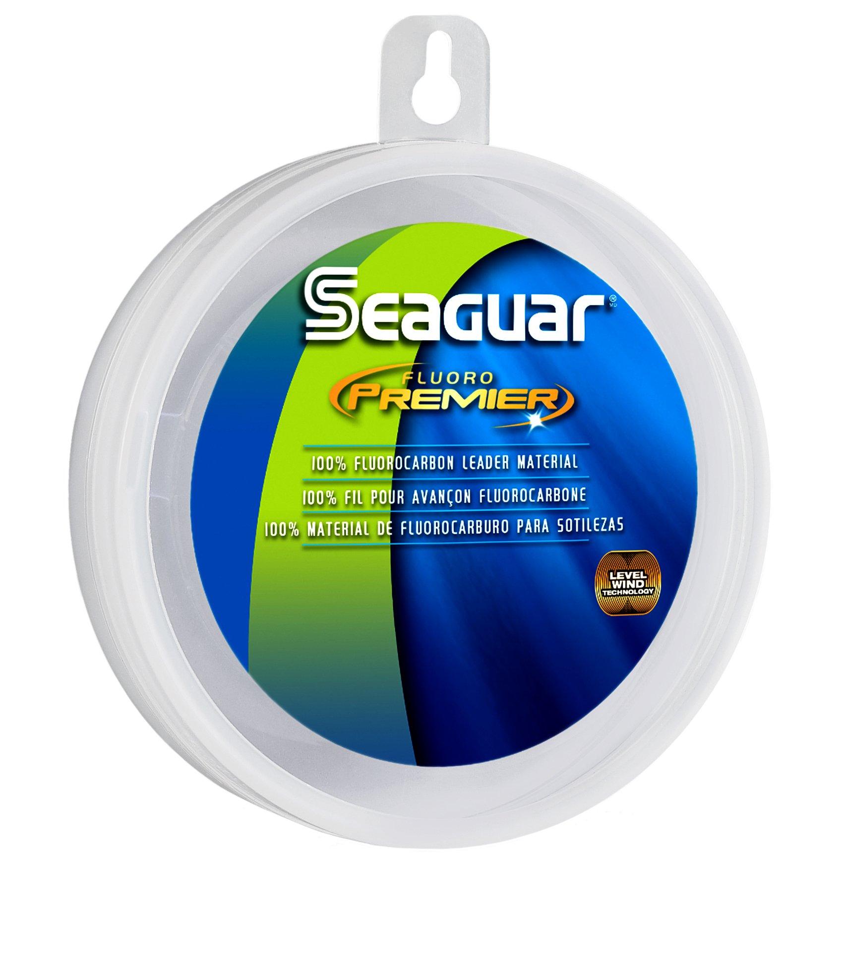 Seaguar 20FP50 Fluorocarbon Premier Leader Material, 20-Pound, 50-Yards