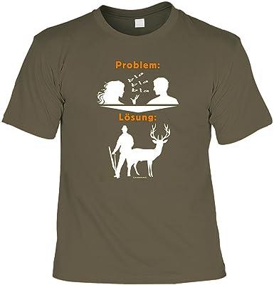 Lustiges Geschenk Fur Jager Jagd Motiv Problem T Shirt Gratis