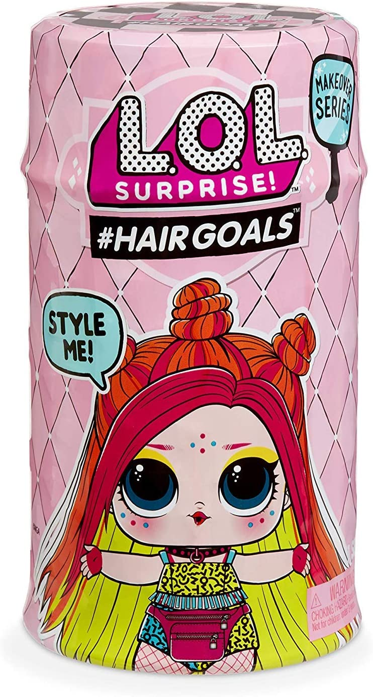 LOL Surprise 576-5562 Hairgoals Wave 2, Makeover series, 15 sorprese, One Random