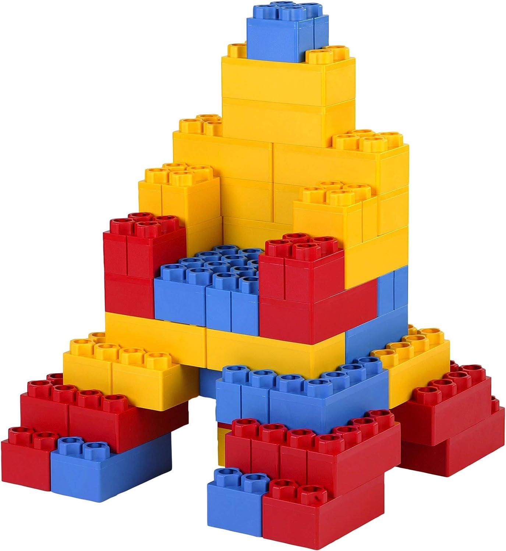 40pc Jumbo Blocks – Big City Playset with Wheels (Copy)