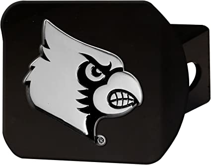 FANMATS 21050 Team Color 3.4x4 Texas Black Hitch Cover