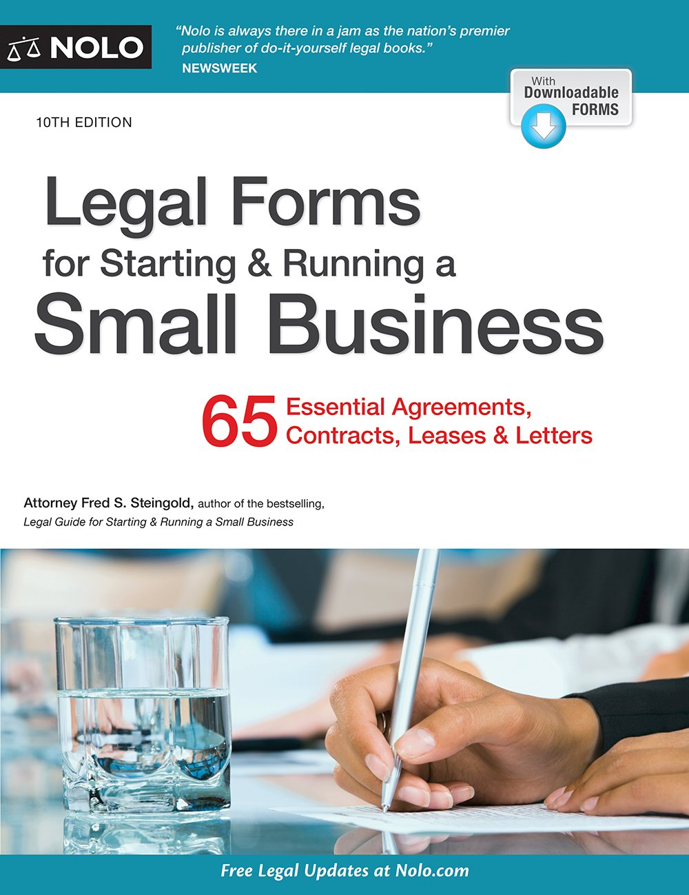 Legal Forms for Starting & Running a Small Business by NOLO