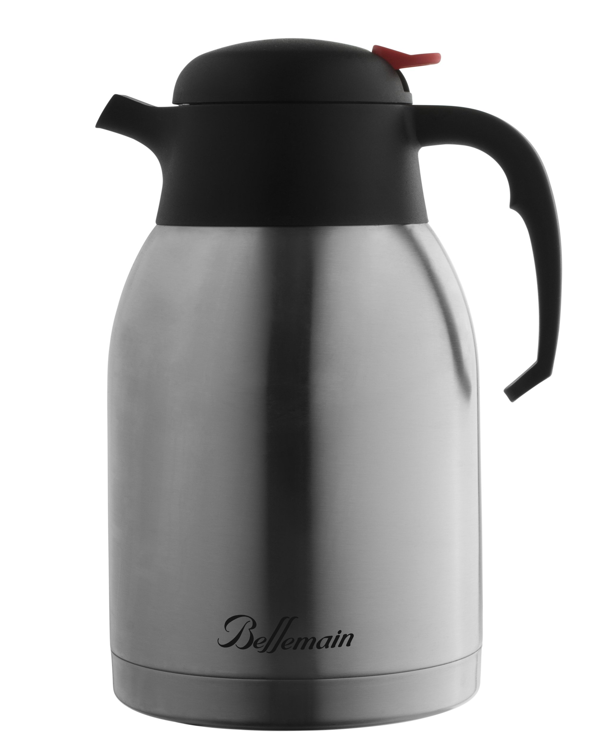 Bellemain Premium Thermal Coffee Carafe Stainless Steel 2 Liter