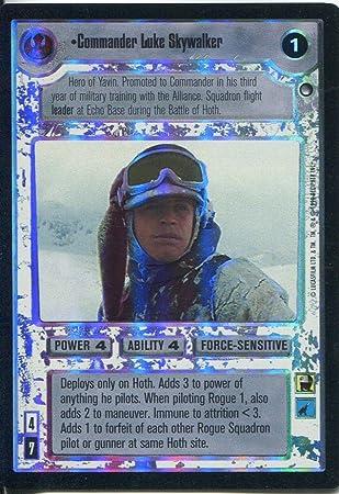 Star Wars CCG Reflections I 1 Foil Commander Luke Skywalker