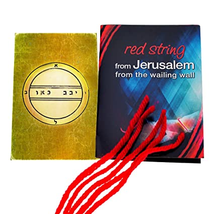 Amazoncom 5 Kabbalah Red String Bracelets Blessed In