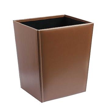 Papierkorb, braun - (CA-343 braun): Amazon.de: Küche & Haushalt