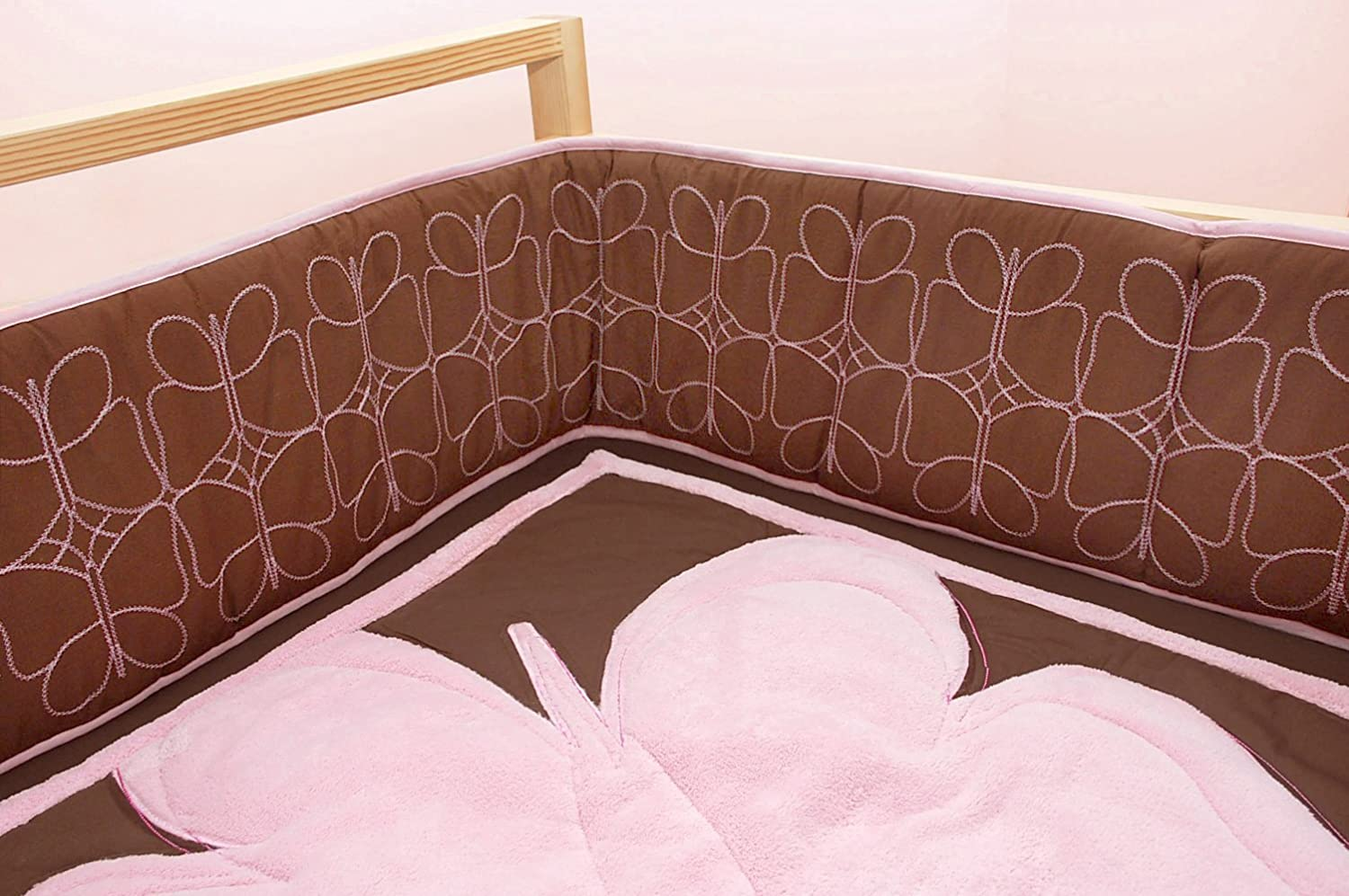 4 Piece Standard Butterfly Baby Tadpoles Crib Set