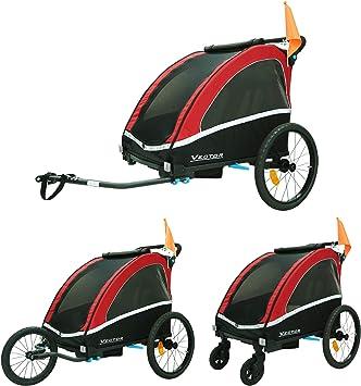 TIGGO World Aluminio Remolque de Bici para niños Remolque de Bici ...