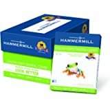 Hammermill Paper, Color Copy Digital Cover, 80lb, 8.5 x 11, Letter, 100 Bright, 2000 Sheets / 8 Pack Case (120023C), Made In The USA