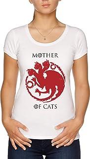 Tees In The Hood Camiseta para Madre de Gatos - Thrones ...