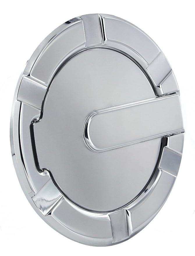 All Sales 6107GKL 7 1//8 Ring//5 1//8 Ami Race Style Billet Fuel Locking Door Gloss Black