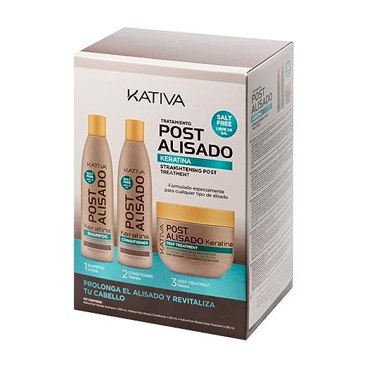 8 opinioni per Kativa Kativa Messaggio Relaxer Kit X 3 Pack (Shampoo + Balsamo X 250 Ml 250 Ml