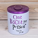 The Bright Side Biscuit Tin - One Person Per Biscuit