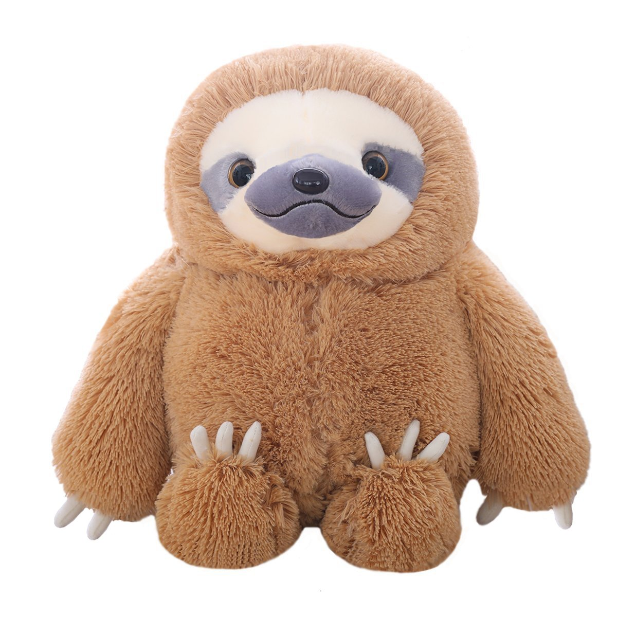 Winsterch Kids Stuffed Sloth Toy Giant Sloth Bear Plush Sloth Stuffed Animal Toy Baby Doll Kids Gift Birthday, 19.7 inches' 19.7 inches'