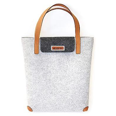 LuckyDD Fieltro bolsa de la compra (bolsa bolsa de tela, fieltro fieltro bolsa de la compra luckysign-simeles