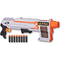 NERF - Ultra 3 Blaster - Pump Action with 8 Dart Internal Clip - incl 8 official Nerf Ultra darts - compatible only with…